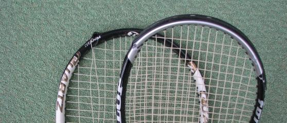 Tennisschläger neu besaiten