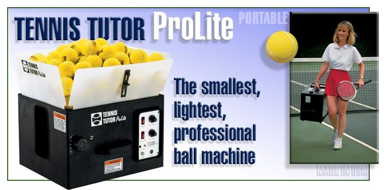 Ballmaschine, Tennis-Ballmaschine ist ein wertvolles Hilfsmittel für das Tennistraining