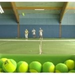 Tennistaining, Ballmaschine, Tennis, Beginnen mit Tennis, Tennistechnik, Vorhand